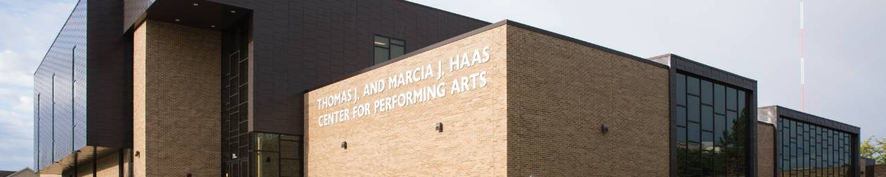 Thomas J. and Marcia J. Haas Center for Performing Arts